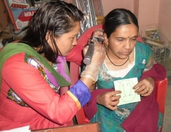 MEND hearing test Nepal