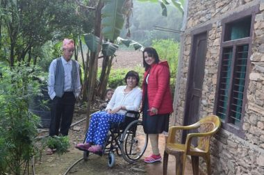 Ganga sends us News from the Hope Disability Centre in Nepal